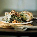 Wild mushroom & spinach lasagne